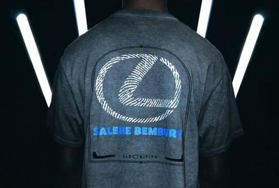 Lexus y Salehe Bembury anuncian una nueva colección con Champion Athleticwear como lienzo