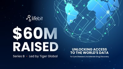 Lifebit raises $60m to make vital biomedical data securely accessible for life changing research worldwide